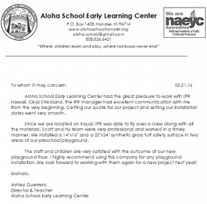 Aloha-School-testimonial-for-IPR-hawaii