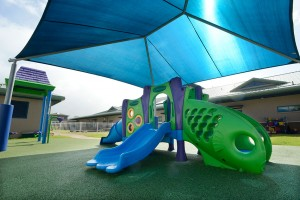 Recently completed playground with shade by IPR Hawaii-photo