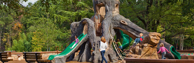 PlayWorx is themed play systems that tell a story and link a community's heritage and culture.